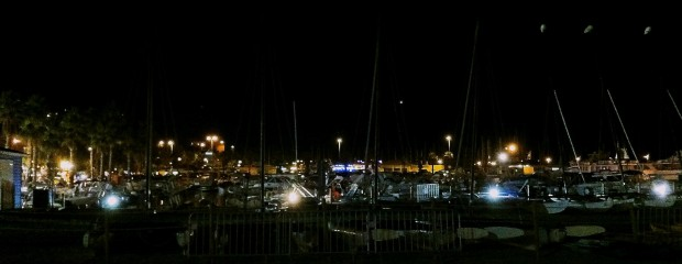 Le Lavandou at Night