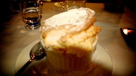 Souffle at Chez de la Rose Julienas